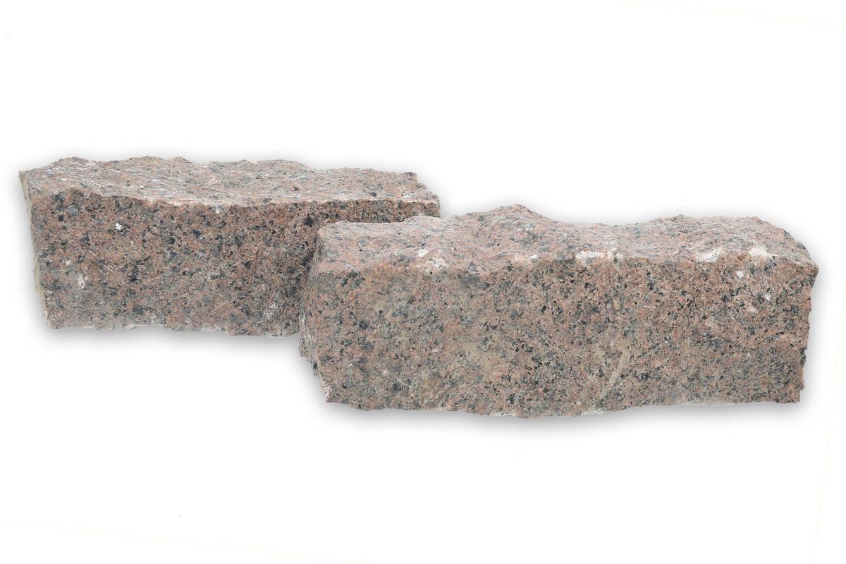 Graniittireunakivi 20 35 cm, punainen  Kivitori verkkokaupasta